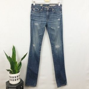 Anthro. AG 'The Premiere' Skinny Straight jean 26